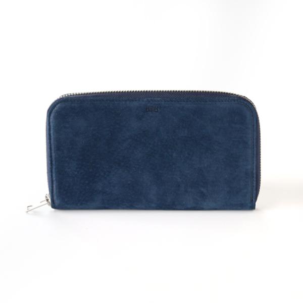SMOKE ラウンドロングウォレット(NAVY BLUE)