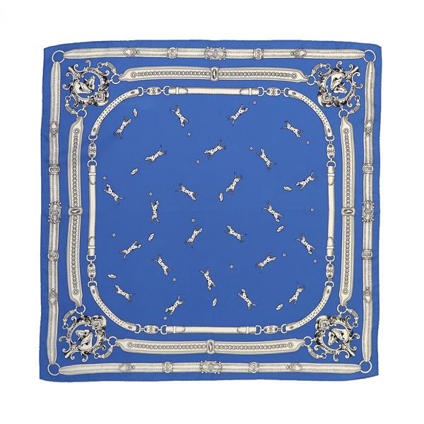 スカーフ/DOG(BLUE)