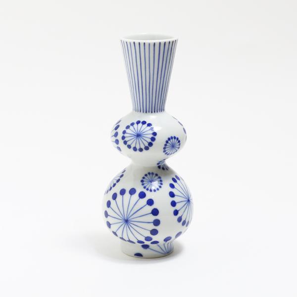徳利 ラッパ型(花)