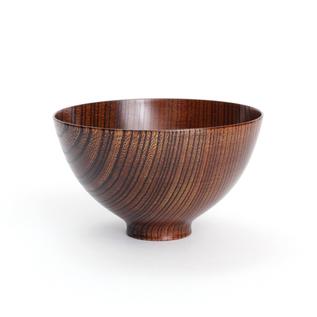 Zelkova free bowl Lacquer Urushi