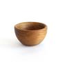 Wooden bowl cherry