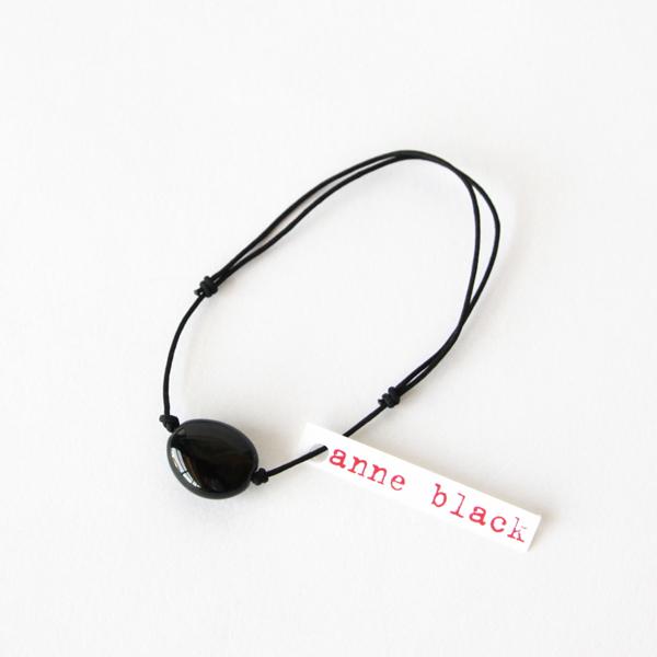 ブレスレット elements mini(ブラック)
