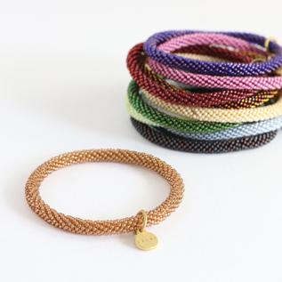 Crochet bracelet solid