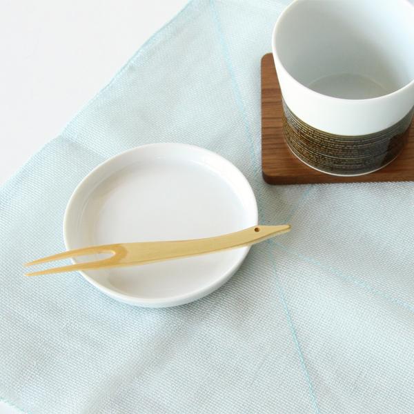 白竹の滑らかな表皮をそのまま活かした、和テイストのフォーク