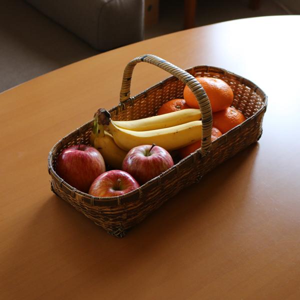 フルーツやパンかごとして