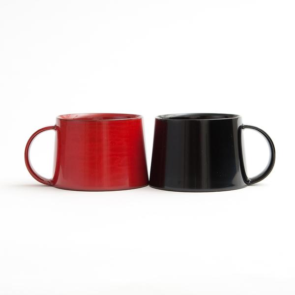 黒と本朱の2カラー