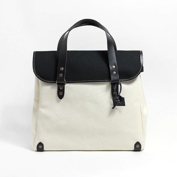 BROADWAY BAG(ブロードウェイバッグ)(WHITE×BLACK)