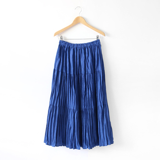 LINNEN TIERED SKIRT