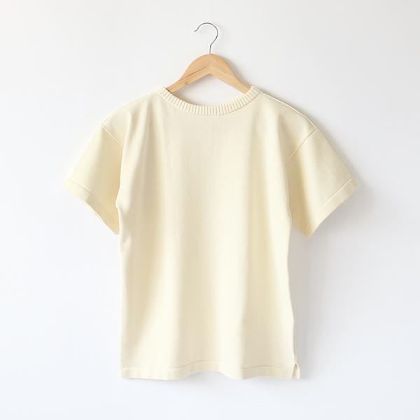 ニットTシャツ OFF WHITE