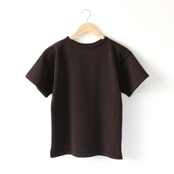 ニットTシャツ BROWN