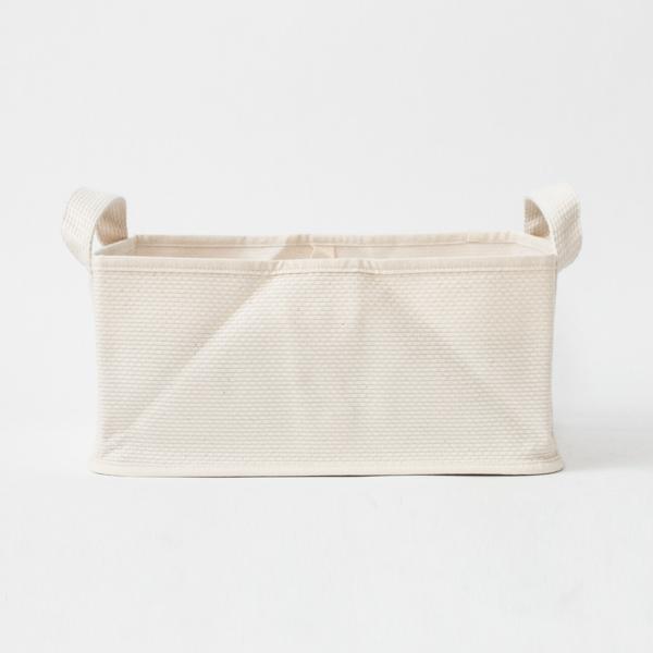 収納ボックスS(NATURAL WHITE)