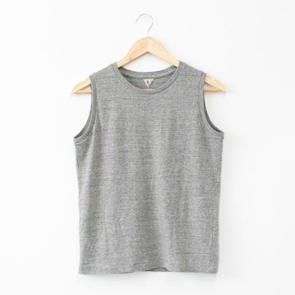 ELENI ノースリーブシャツ(CAMPIONE MELANGE)