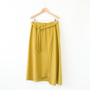 ブラッシュ天竺スカート