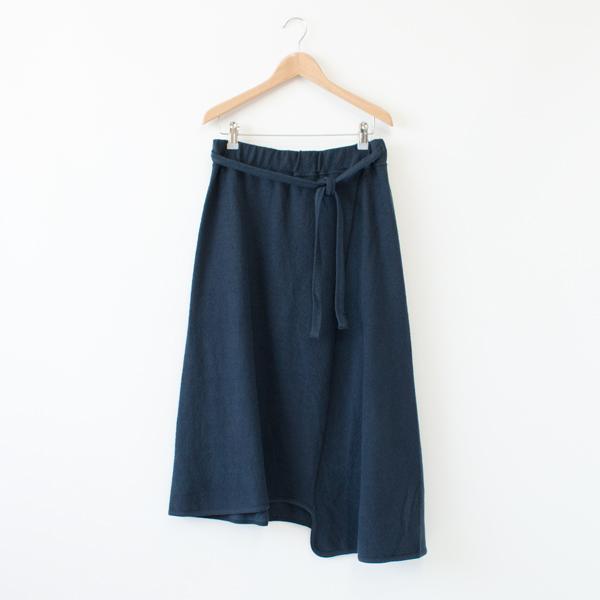 ブラッシュ天竺スカート(NAVY BLUE)