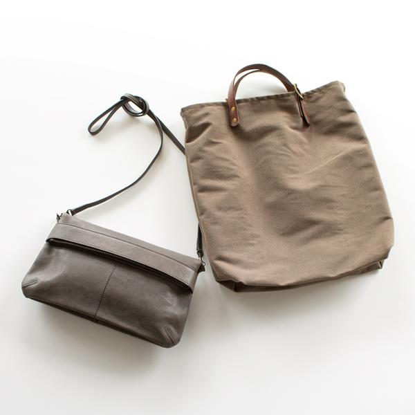 コンパクトなバッグのお供に(BROWN)