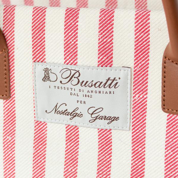 イタリアの老舗テキスタイルブランド「Busatti(ブサッティ)」初のオリジナルバッグ