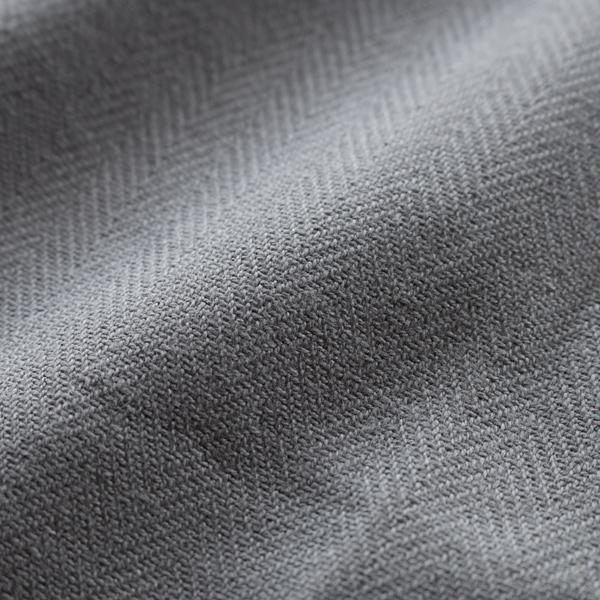 オーガニックコットンをヘリンボーン織りにした生地は、使うごとに柔らかく、手や身体に馴染みやすくなります