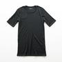 メンズ メリノウール Tシャツ