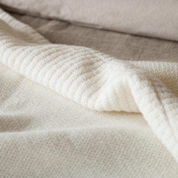 パイルのないワッフル織り(ベージュ)