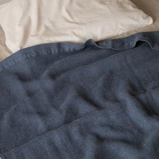 ヴィンテージワッフル タオルケット(125×190)