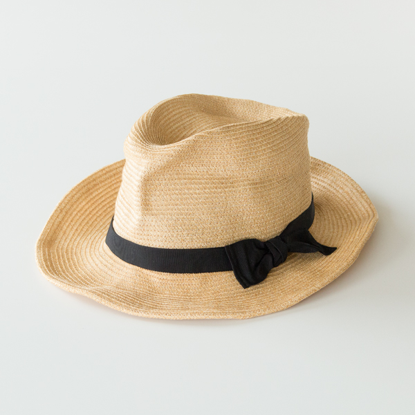 HAT rana(NATURAL×BLACK)