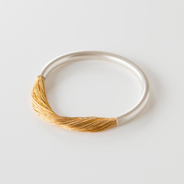 絲 tabane ブレスレット(銀)