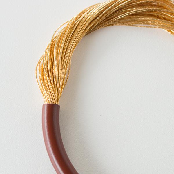 絲 tabane ブレスレット(弁柄漆)