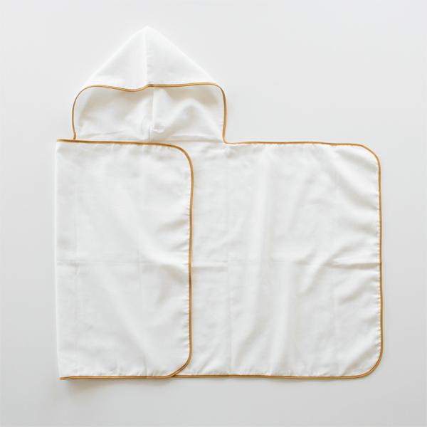 デリケートな赤ちゃんのお肌にもやさしい、ふんわりガーゼのタオル