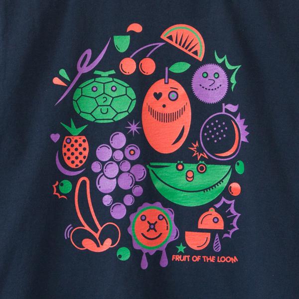 デザイナー・中村muchoよしてる氏による、ポップな果実のイラスト