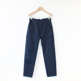 CROPPED PANTS NATURAL
