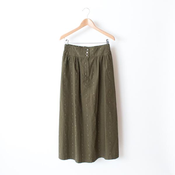 hatsutoki×ZUTTO 雨のドビー スカート(KHAKI)