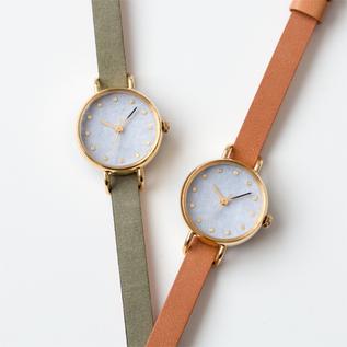 【別注】腕時計 こないろ 岩紫雲 レディース