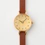 【別注】腕時計 箔 ゴールド