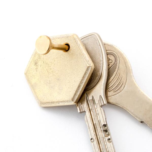 よく使う鍵をプレートの隣に配置すれば、探す手間も省けて便利