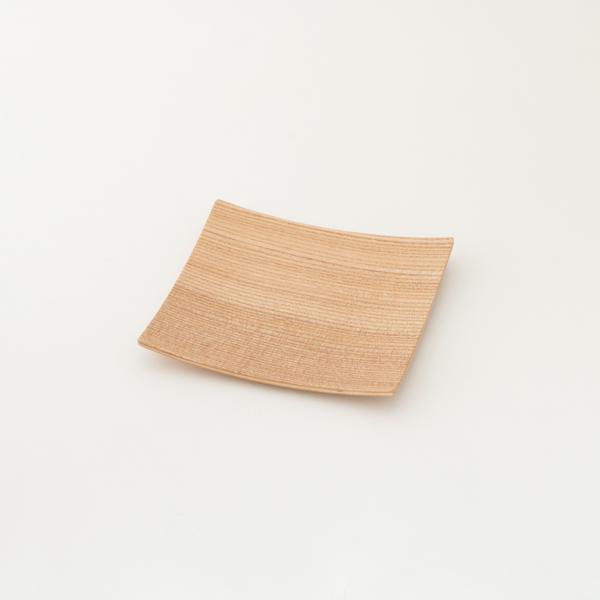 木製プレートスクエア S(シオジ)