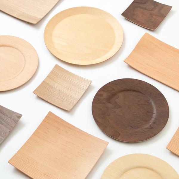 プライウッド食器メーカー「GOLD CRAFT」は、木の特性を知り尽くしたプロの立場から、ウォルナットやベイマツなど、様々な木を用いた製品作りを行っています