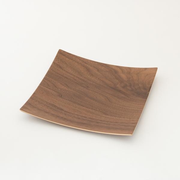 木製プレートスクエア M(ウォルナット)