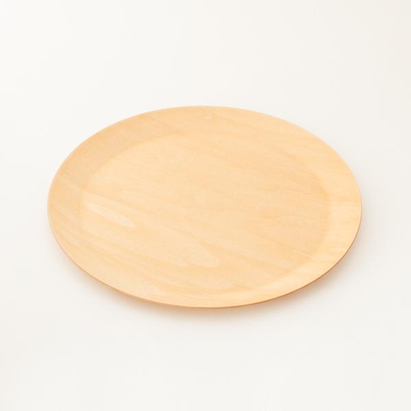 木製タイトリム皿 M(シナノキ)