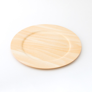 木製ワイドリム皿 M