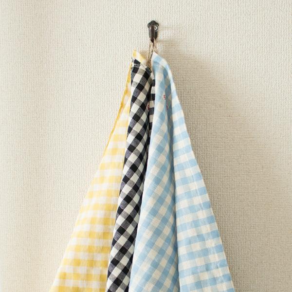 手拭き、食器拭き、台拭きと用途で色分けして使うのがおすすめ
