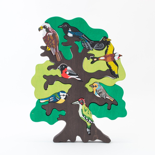 FAUNA Birds tree Europe