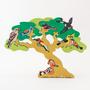 FAUNA ファウナ 木製 パズル 鳥達の木 渡り鳥