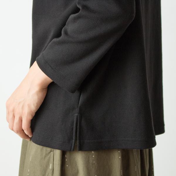 袖・裾(BLACK)
