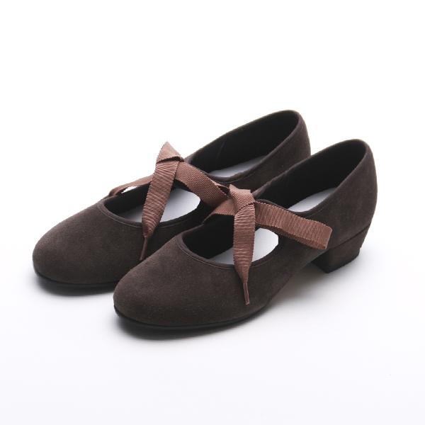 タッStar Tap Shoe Suede chocolate
