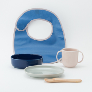 BABY TABLEWARE SET BLUE BELL