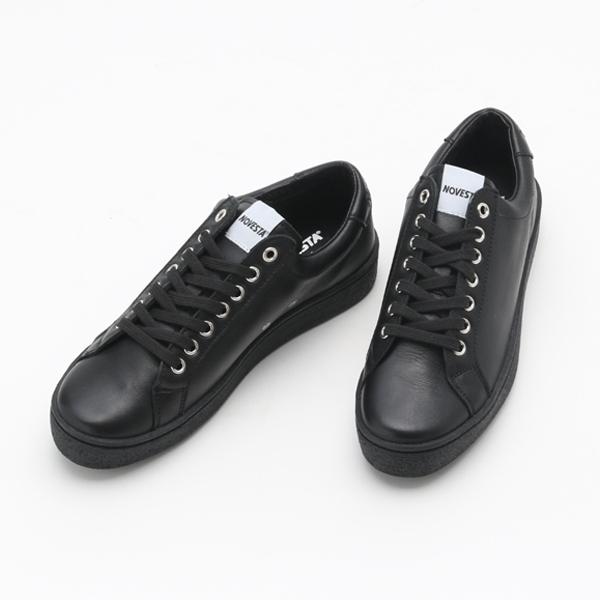 レザースニーカー ITOH CLASSIC BLACK-BLACK