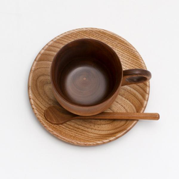 コーヒーカップ内側