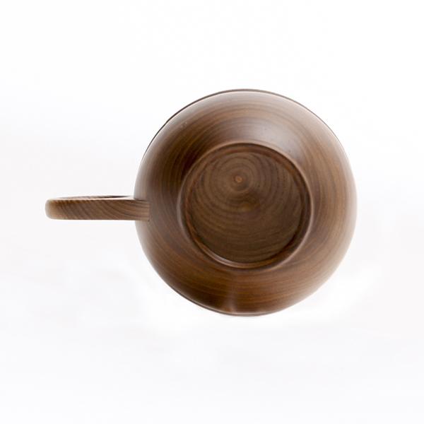 コーヒーカップ底面