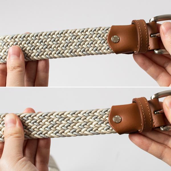 伸縮性が高く、フィット感に優れた素材を使用しています