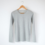 COTTON CASHMERE CUT AND SEWN